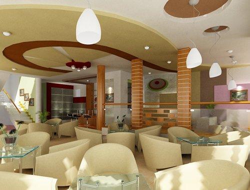 Trần thạch cao đẹp cho quán cafe   trần thạch cao   trần thạch cao cho quán cafe  