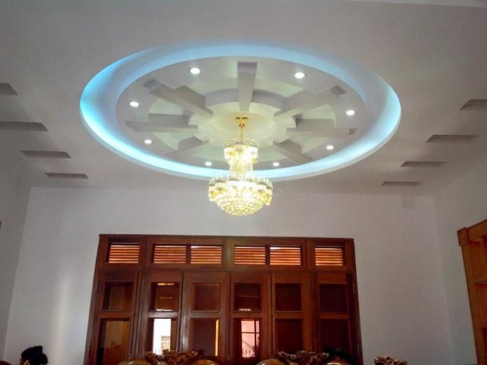 mẫu trần thạch cao thiết kế riêng cho kiến trúc Việt Nam-5
