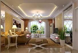 Mẫu trần thạch cao đẹp cho phòng khách. 03