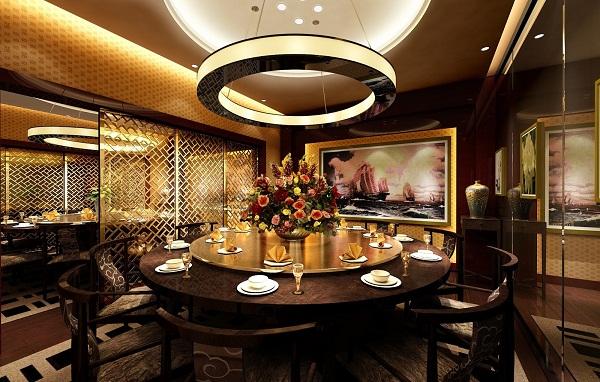 Thi công thạch cao nhà hàng đẹp nhất 03
