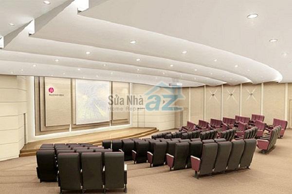 Thi công thạch cao phòng họp công ty-006