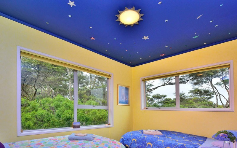 Mẫu trần thạch cao đẹp phòng ngủ trẻ em ngộ nghĩnh và đáng yêu-4