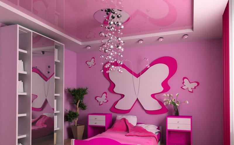 Mẫu trần thạch cao đẹp phòng ngủ trẻ em ngộ nghĩnh và đáng yêu-5