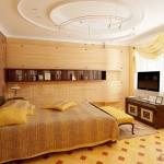 Làm trần thạch cao phòng ngủ hiện đại