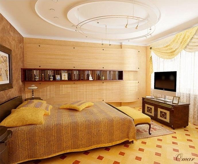 Mẫu 2 - Làm trần thạch cao phòng ngủ hiện đại