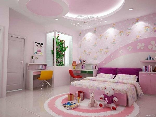 Mẫu 5 - Làm trần thạch cao phòng ngủ hiện đại
