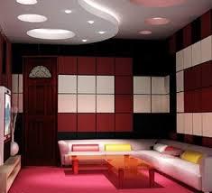 mẫu 2 - mẫu trần thạch cao đẹp cho phòng karaoke