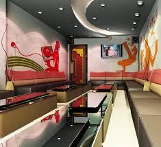 mẫu 3 - mẫu trần thạch cao đẹp cho phòng karaoke
