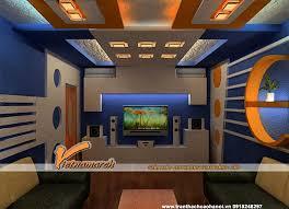 mẫu 4 - mẫu trần thạch cao đẹp cho phòng karaoke