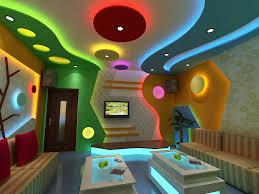 mẫu 1 - mẫu trần thạch cao đẹp cho phòng karaoke