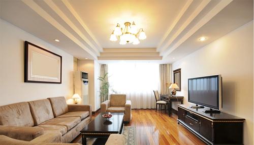 hình ảnh 3- Mẫu trần thạch cao đẹp cho phòng khách