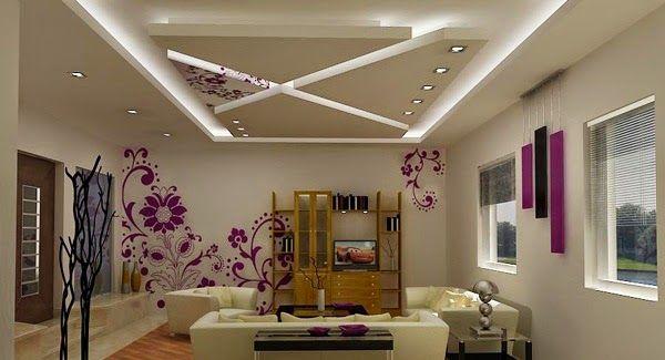 hình ảnh 5- Mẫu trần thạch cao đẹp cho phòng khách