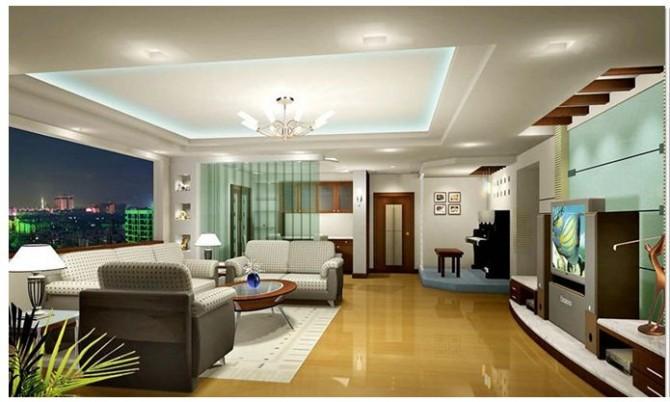 Thi công trần thạch cao cho chung cư cao cấp