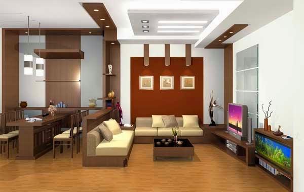 Thi công trần thạch cao cho chung cư mini - 2