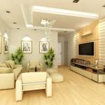 Thi công trần thạch cao cho chung cư mini