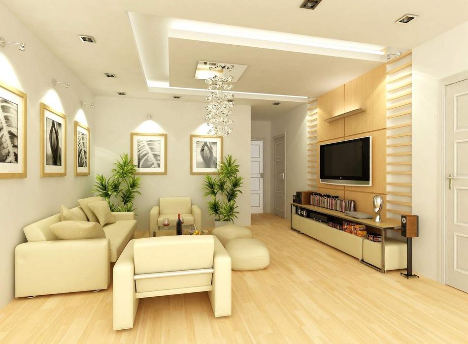 Thi công trần thạch cao cho chung cư mini - 1