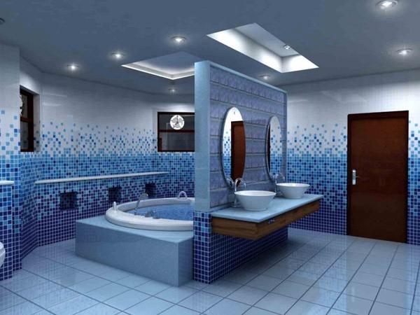 Thi công trần thạch cao cho phòng tắm. 1