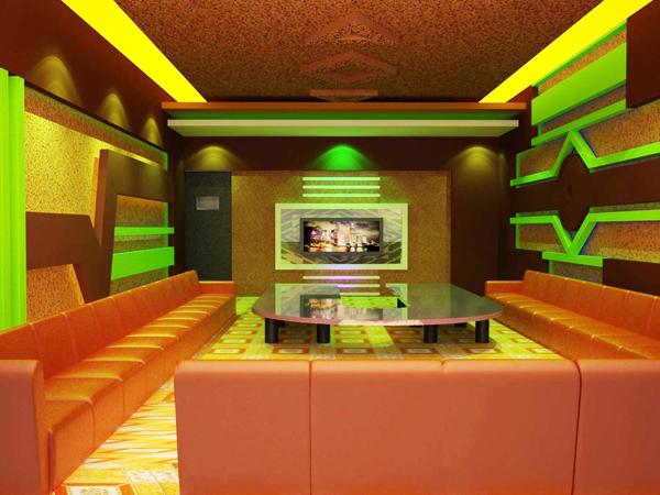 Làm trần thạch cao chống cháy cho quan karaoke. 4