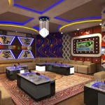Làm trần thạch cao chống cháy cho quán karaoke