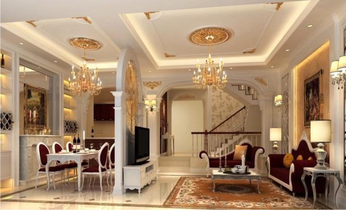 Làm trần thạch cao chống cháy cho nhà đẹp. 4