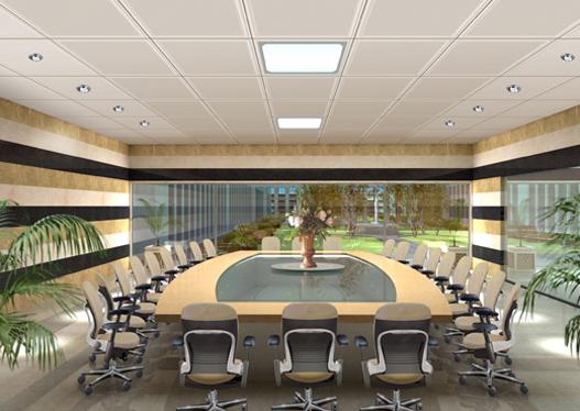 Làm trần thạch cao cho văn phòng làm việc. 1