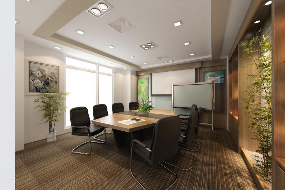 Làm trần thạch cao cho văn phòng làm việc. 4