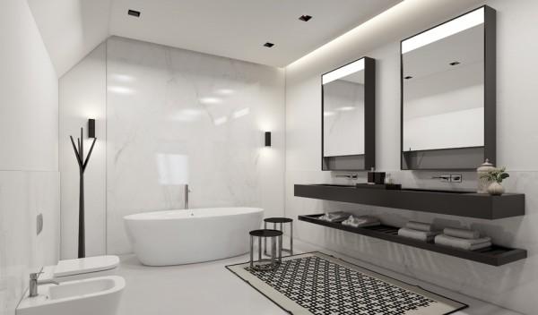 Làm trần thạch cao chống ẩm cho nhà vệ sinh. 5