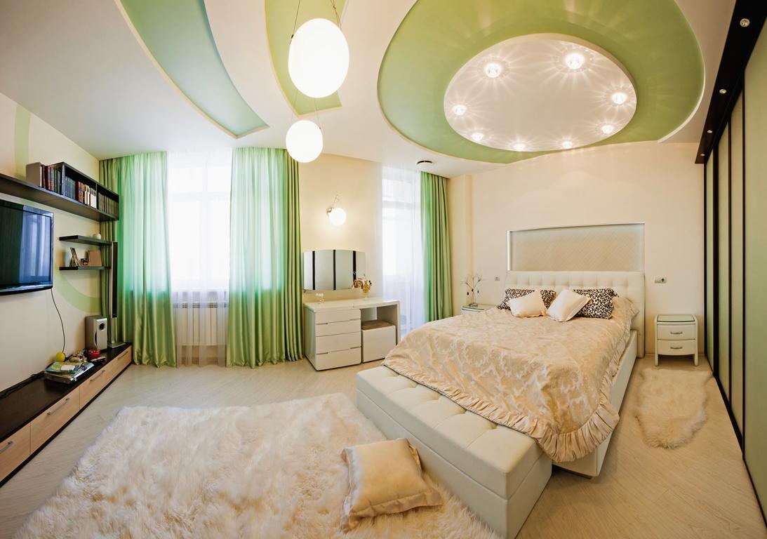 Làm trần thạch cao sinh động cho phòng ngủ bé. 1