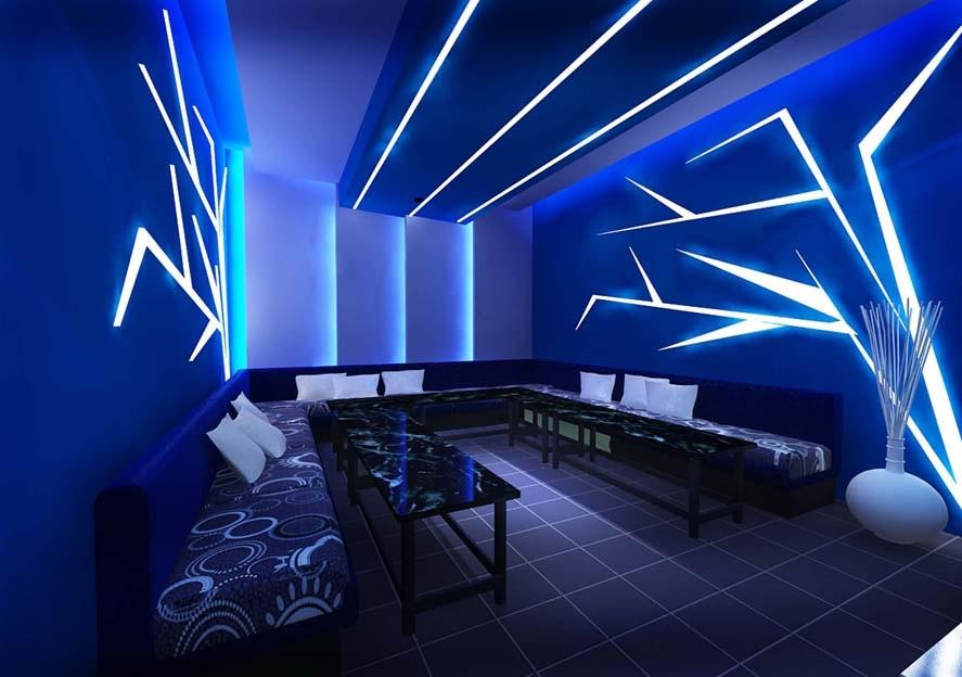 Mẫu trần thạch cao phòng Karaoke 5