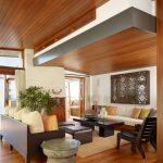 Xu hướng sử dụng trần thạch cao kết hợp gỗ đẹp nhất 2017