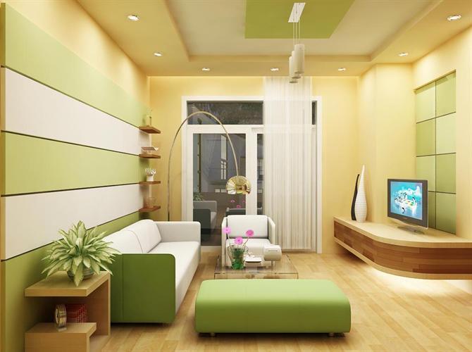Thiết kế trần thạch cao cho phòng khách nhỏ đẹp. 5