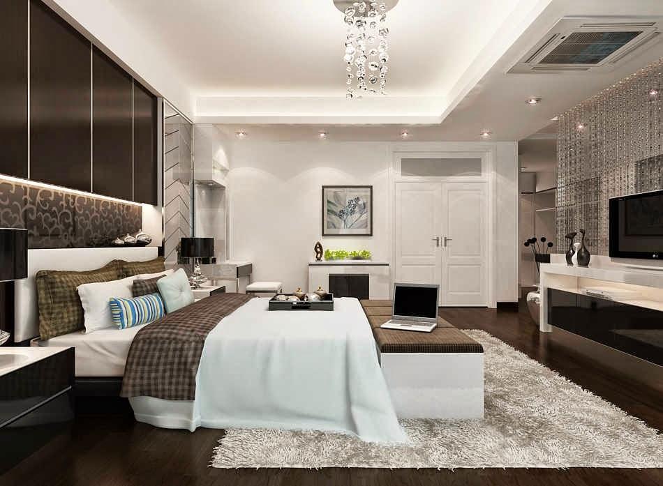 Mẫu trần thạch cao đẹp cho phòng ngủ 3