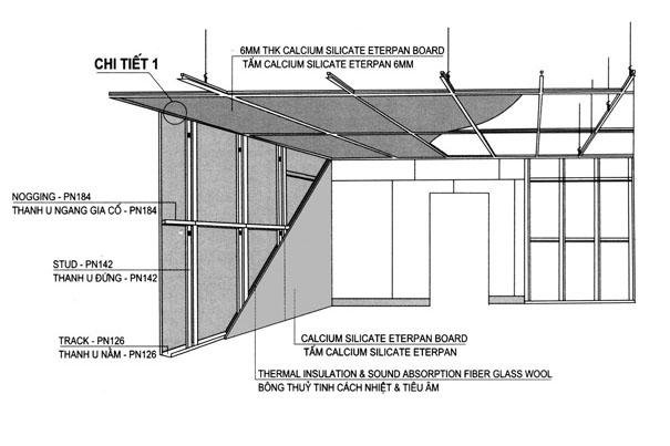 Những lợi ích mà tường và trần thạch cao mang lại 8