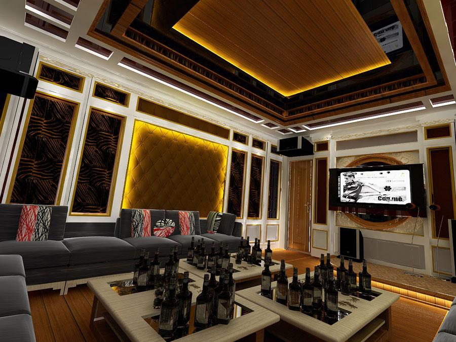Vách thạch cao cách âm cho phòng karaoke