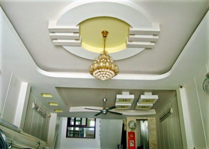 Thi công trần thạch cao đẹp cho không gian nhà ống ấn tượng - 5