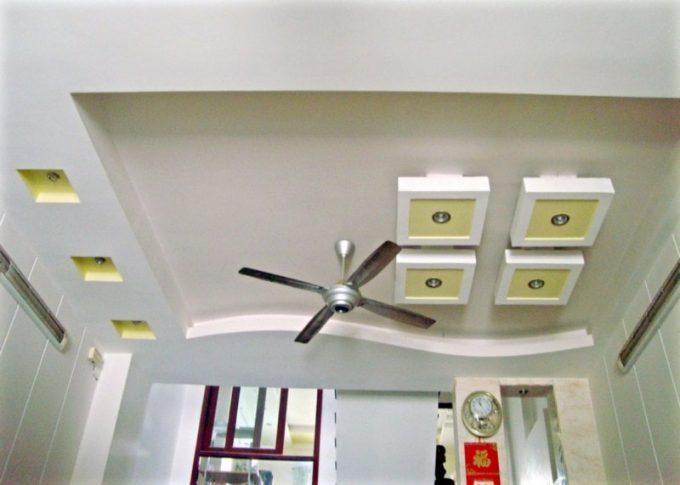 Thi công trần thạch cao đẹp cho không gian nhà ống ấn tượng - 1