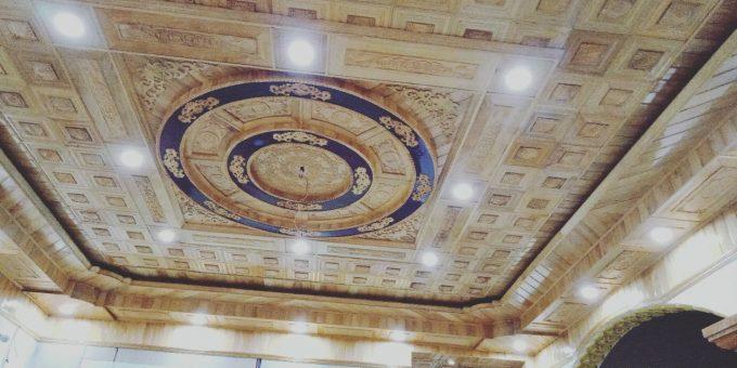 Mẫu trần thạch cao đẹp cho biệt thự cổ điển - 2