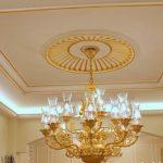 Mẫu trần thạch cao đẹp cổ điển cho kiến trúc biệt thự