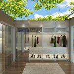 Thiết kế trần thạch cao 3D cho nhà phố đẹp ấn tượng