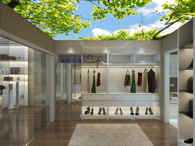 Thiết kế trần thạch cao 3D cho nhà phố đẹp ấn tượng - 3