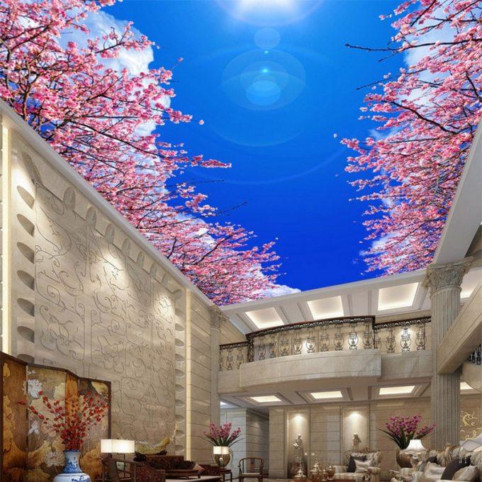 Thiết kế trần thạch cao 3D cho nhà phố đẹp ấn tượng - 6