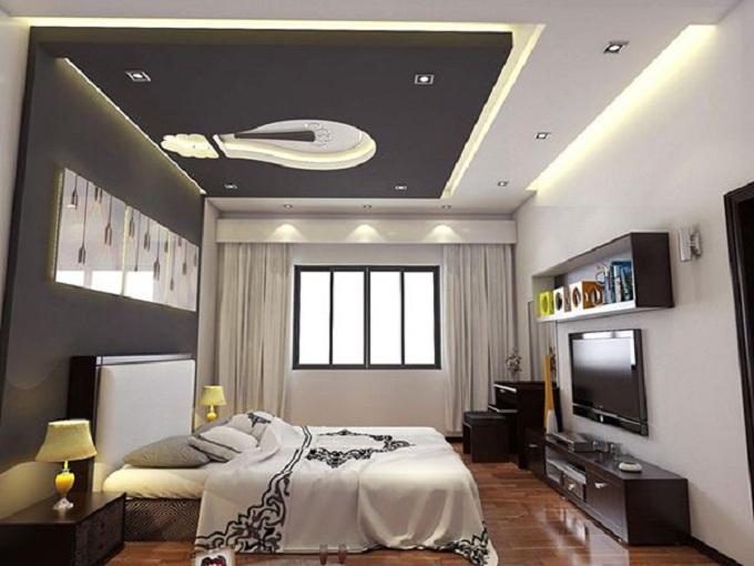 Top 10 + mẫu trần thạch cao phòng ngủ đẹp