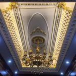 Top 10 mẫu trần thạch cao cổ điển phòng khách đẹp năm 2021